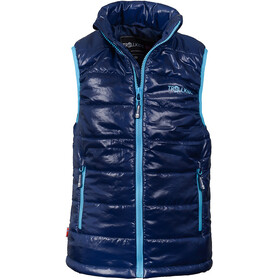 TROLLKIDS Trondheim Vest Kids navy/light blue